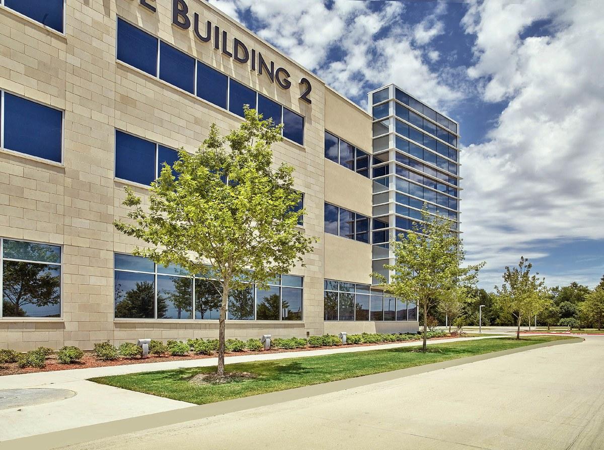 Belle Firma landscape design - Baylor Healthcare