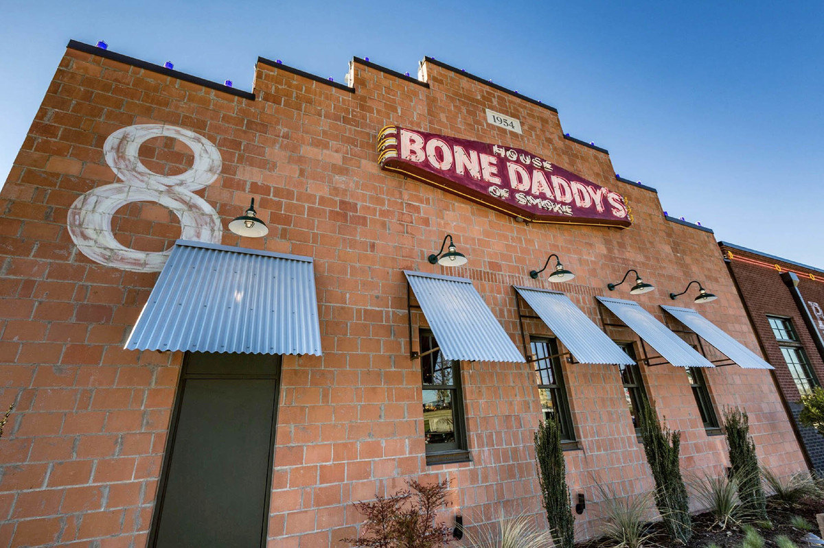 Bone Daddy's commercial landscaping project in Denton TX
