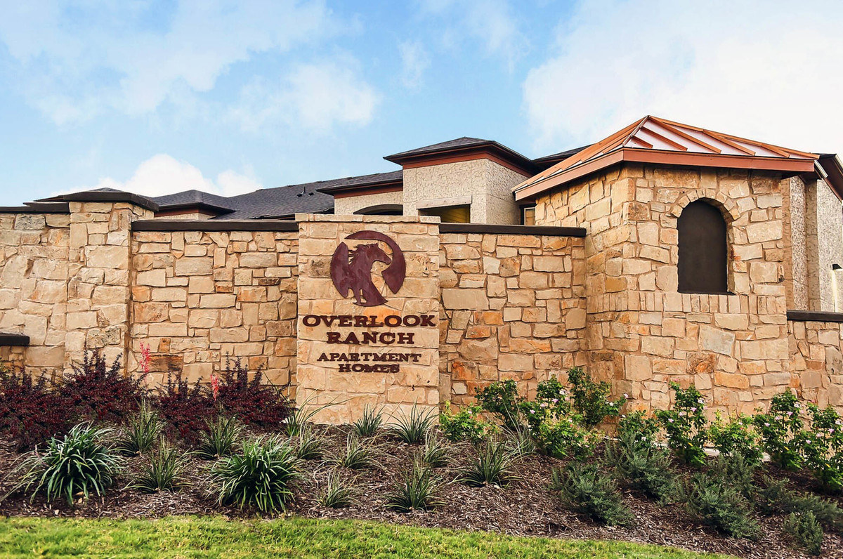 Alcatel-Lucent commercial landscaping in Plano TX
