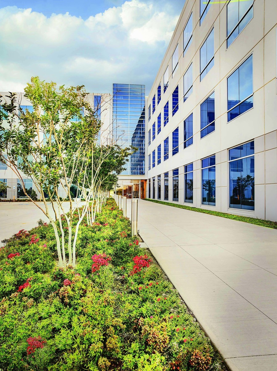 legacy center commercial landscape