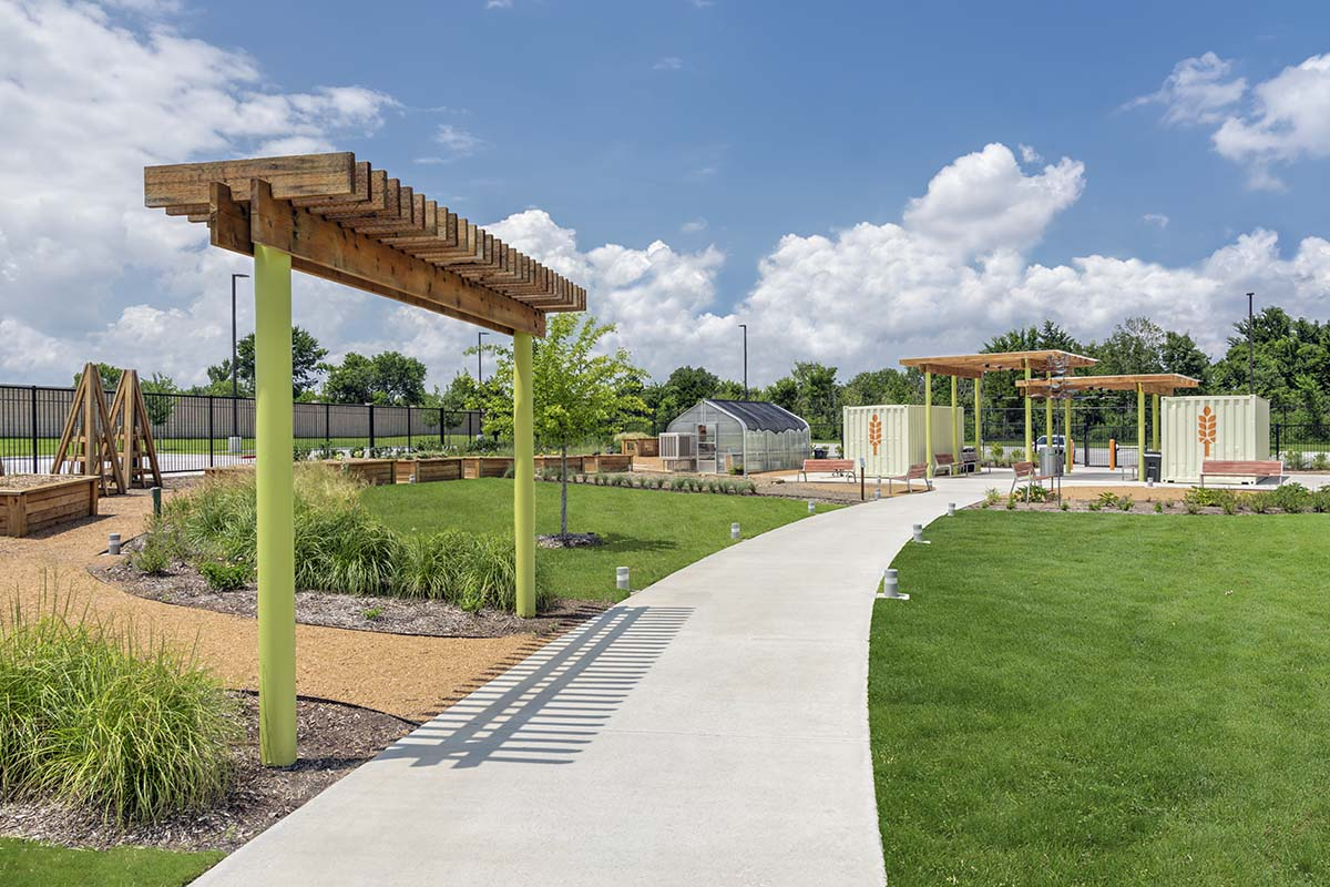 North Texas Food Bank Garden Arbor