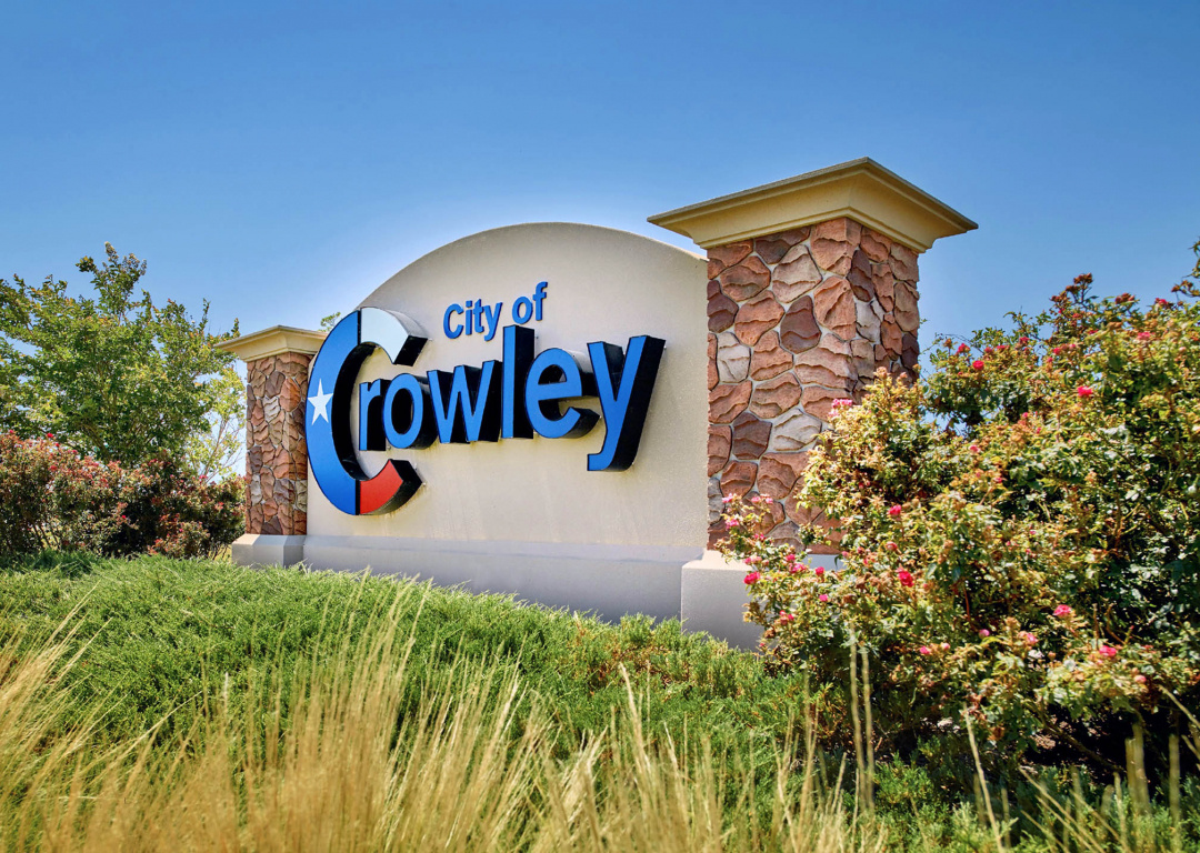 city of crowley landscape design project